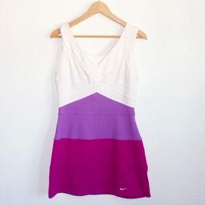 Nike Athletic Dress * White, Purple & Fiuscia